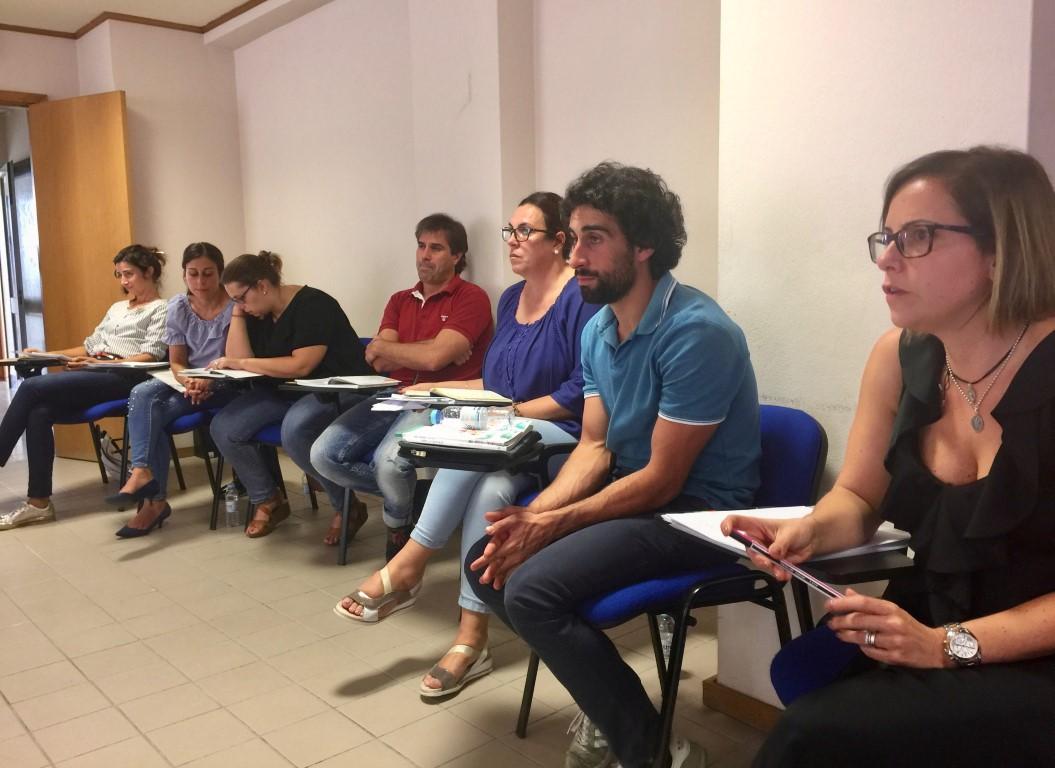 1º encontro de formação dos facilitadores do projeto de educação para o empreendedorismo