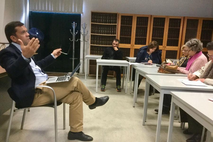 """V Seminário à Hora do Almoço, """"Políticas de educação para o empreendedorismo"""""""