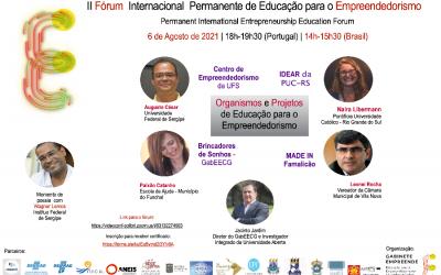 II Fórum Internacional Permanente de Educação para o Empreendedorismo (FIPEE)